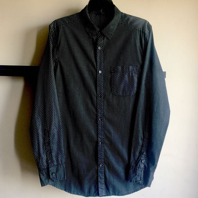 OXYGEN Polka Dot Shirt