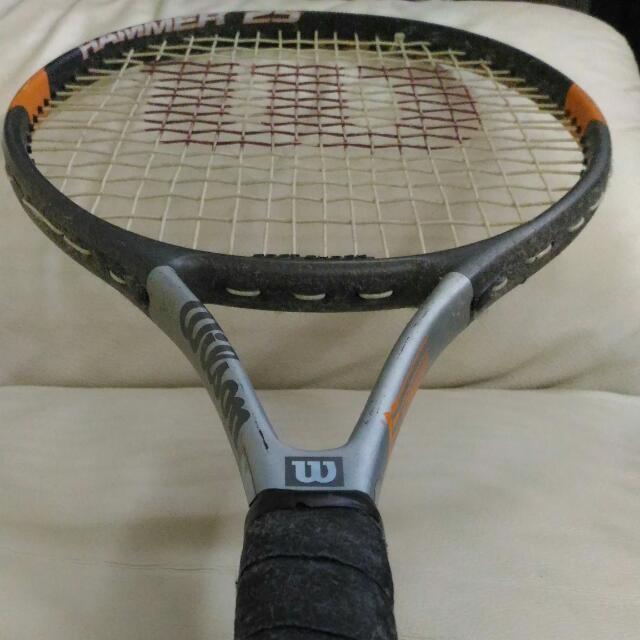 Paket 2 Raket Tennis Wilson HYPER Hammer