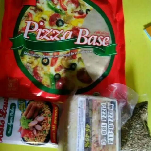 Paket DIY Pizza