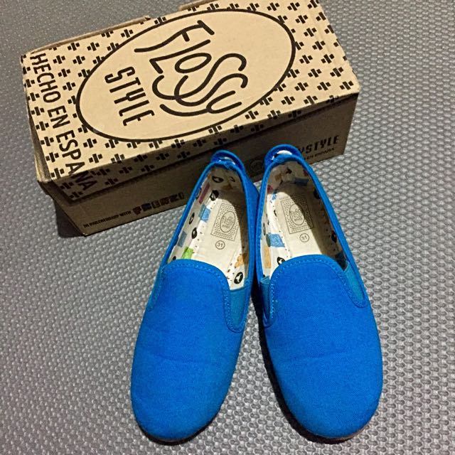 Pamplona Blue Slip On