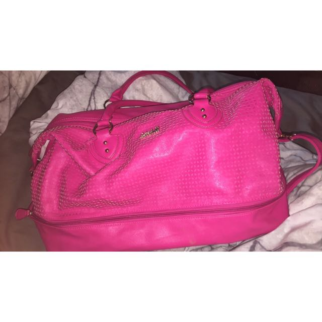 Pink Over Night Kate Hill Bag