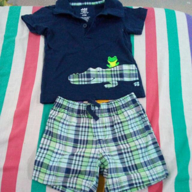 Pre Loved Babies Terno By Carter's