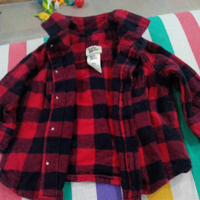 Preloved Long Sleeved Polo For Baby