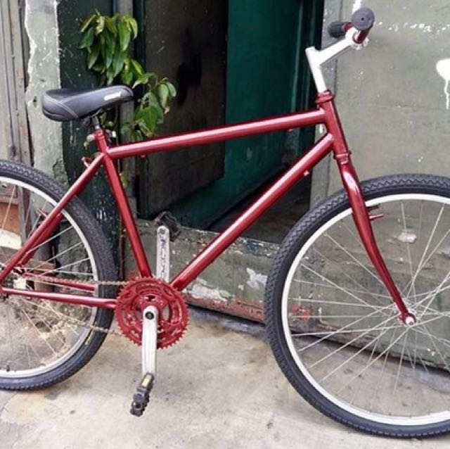 Project Mountain Bike Red