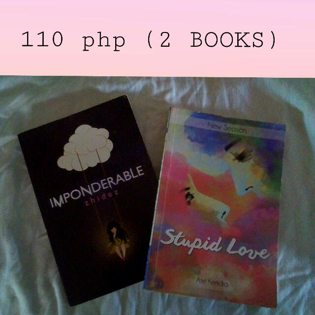 PSICOM's :  Imponderable By Zhidez Stupid Love By Ate Kendra  (Swipe--->)