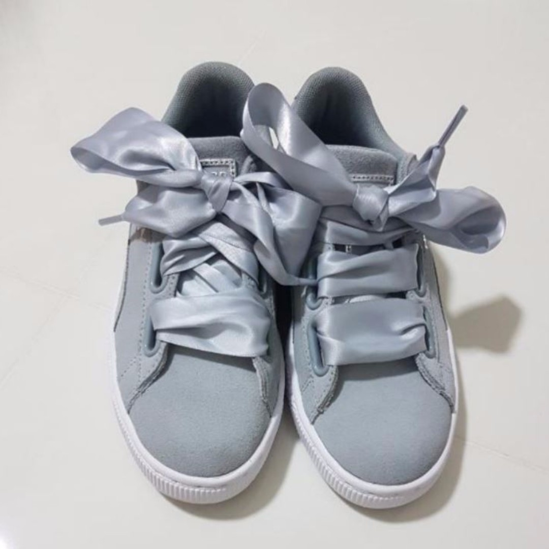 livraison gratuite 76438 df50a Puma Basket Suede Heart Safari, Women's Fashion, Shoes on ...
