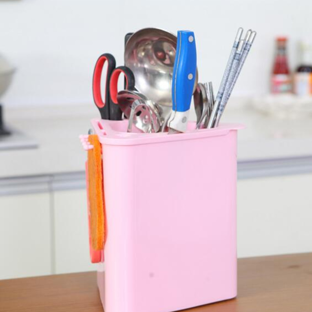 Rak dapur serbaguna / tempat pisau garpu sendok