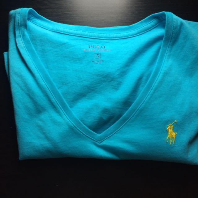 Ralph Lauren V Neck Tee Shirt