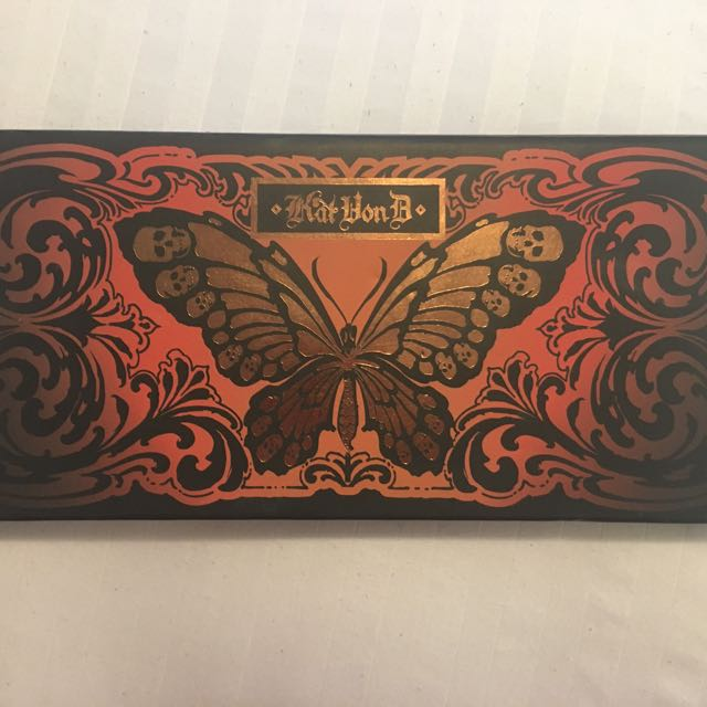 *RARE* KAT VON D Monarch Eyeshadow Palette