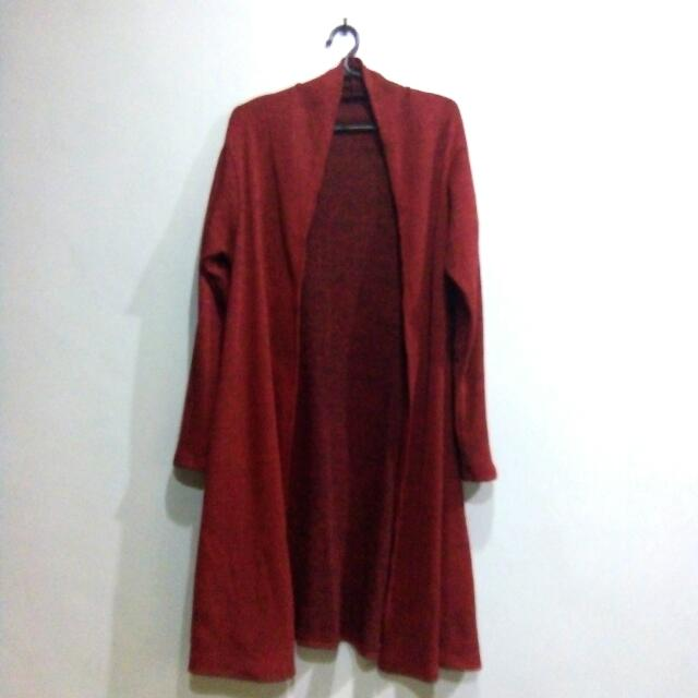 Repriced! Red Cardigan
