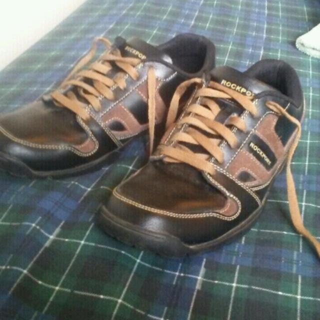 Rockport Mens Casual Oxford Shoes Size 9.5  Beckson Black