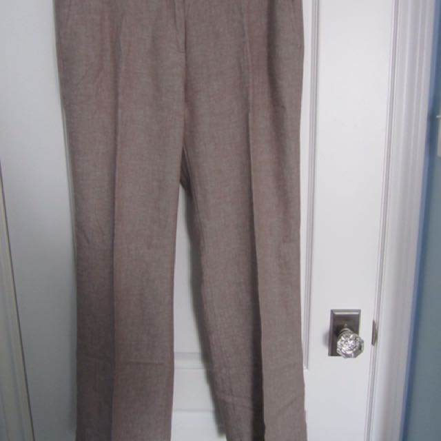 Sand Linen Trousers