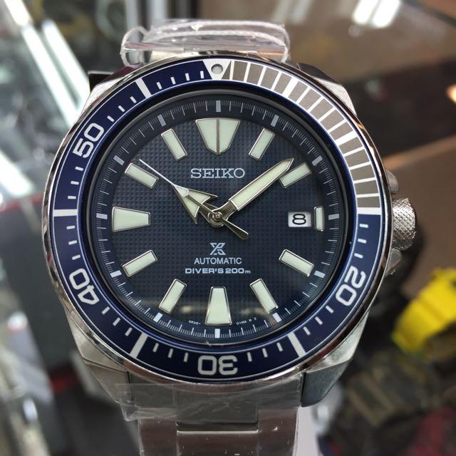 Seiko Samurai SRPB49K1 (Blue Dial), Men's Fashion, Watches on Carousell