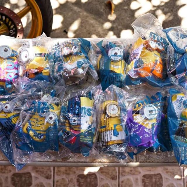 USA 2015 Talking Minions Happy Meal Set of 12