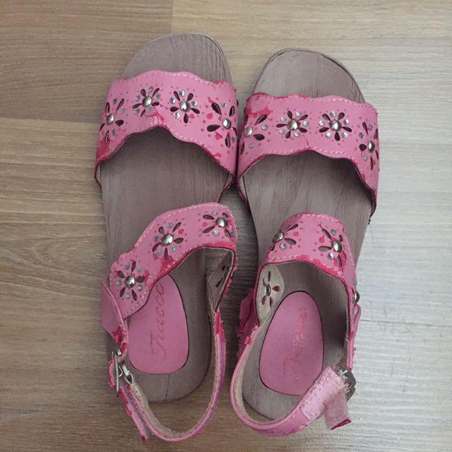 Sendal Anak Tracce Kids Sandal Pink Size 29 Insole 18cm
