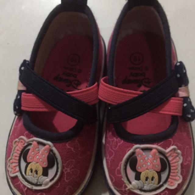 Sepatu Baby Minnie Mouse