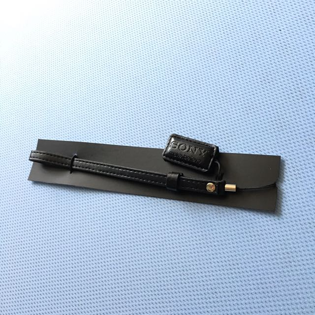 Sony 皮質手環帶 手機吊飾