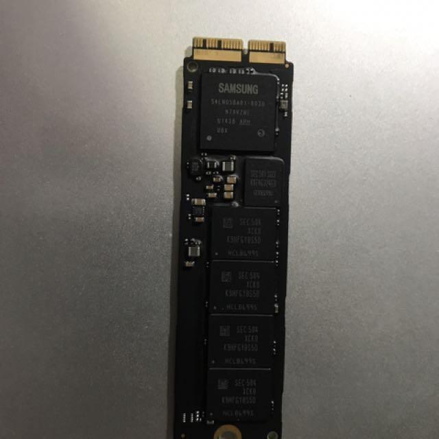 SSD 256Gb MacBook Air A1466 Early 2015