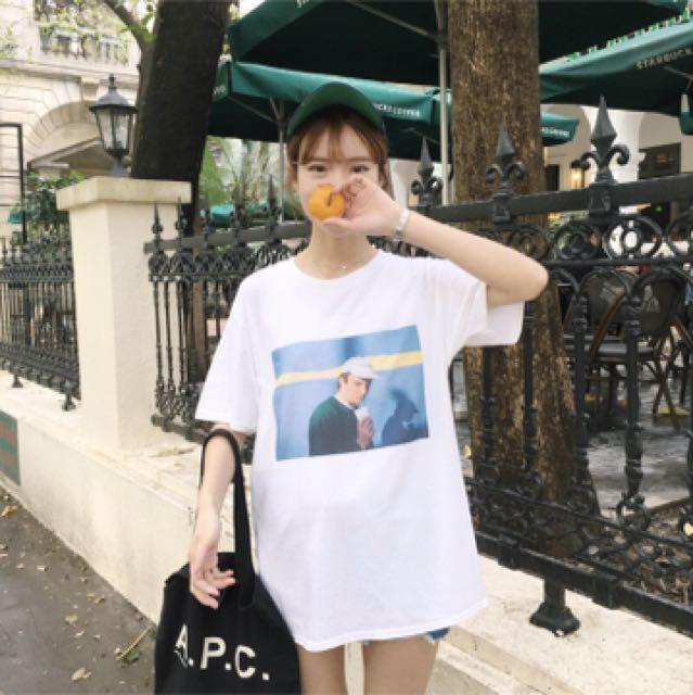 韓版印花T恤