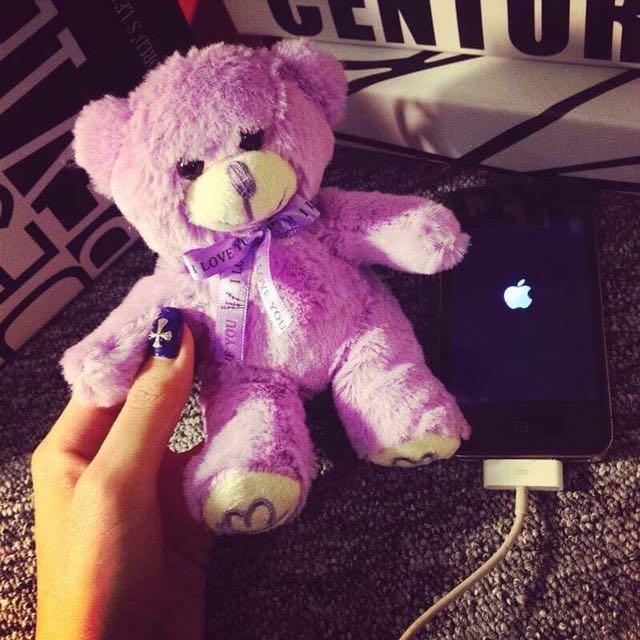 TEDDY BEAR PORTABLE CHARGER