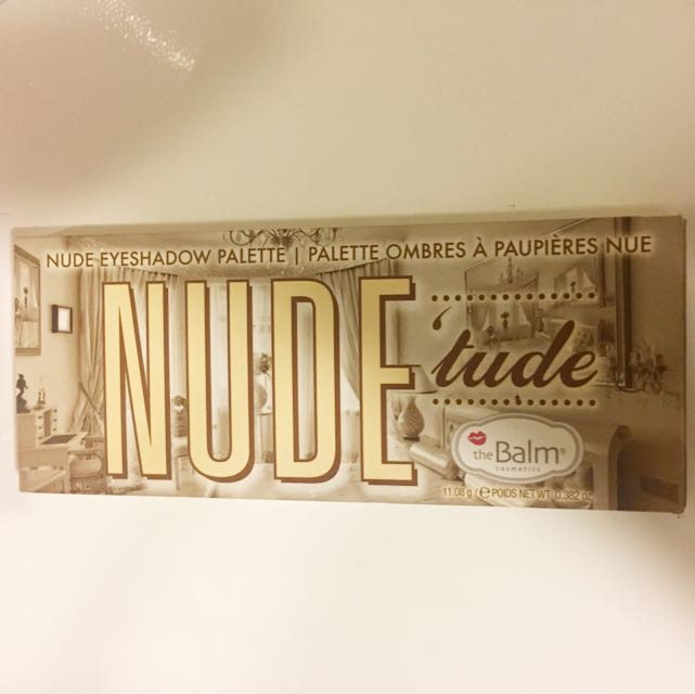 The Balm Cosmetics Nude'tude Palette