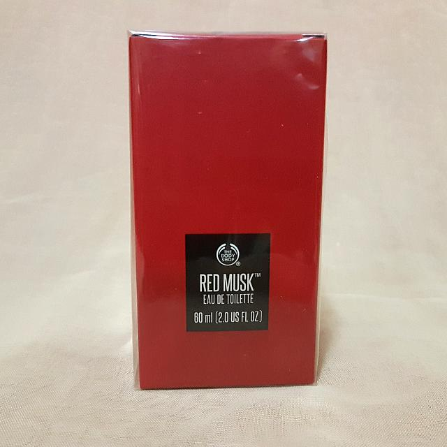 The Bodyshop Eau De Toilette (EDT) Red Musk