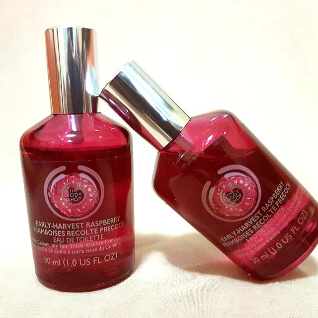 The Bodyshop Eau De Toillette (EDT) Early Harvest Raspberry