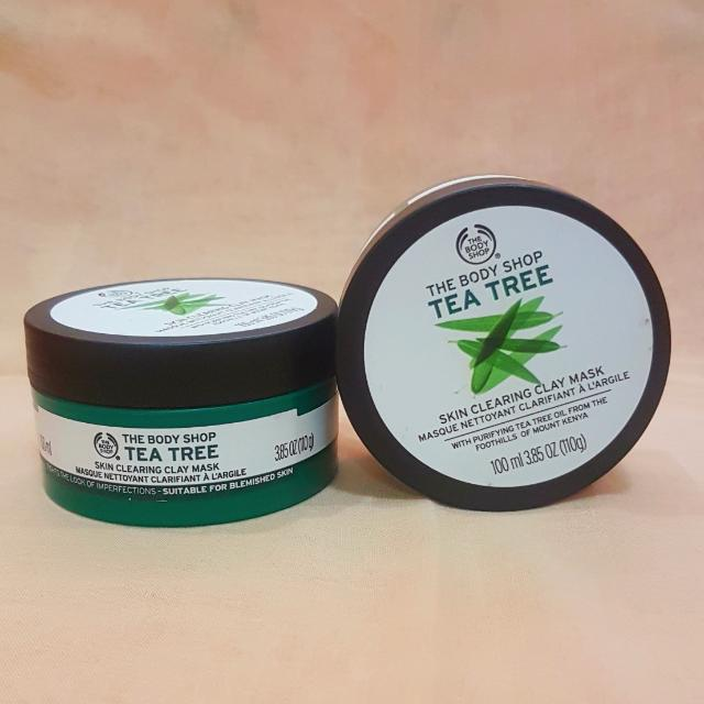 The Bodyshop Tea Tree Mask Clay