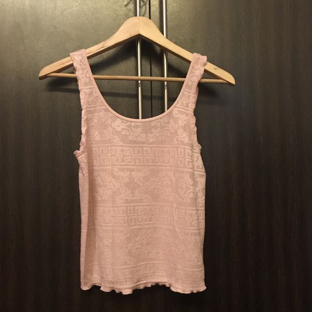 Topshop Blush Pink Tank Top