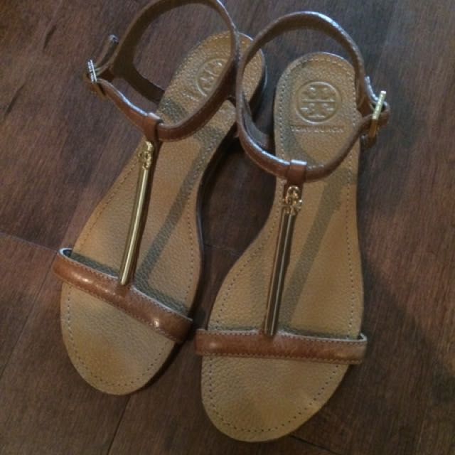 Tory Burch Brown Sandals, Size 7.5