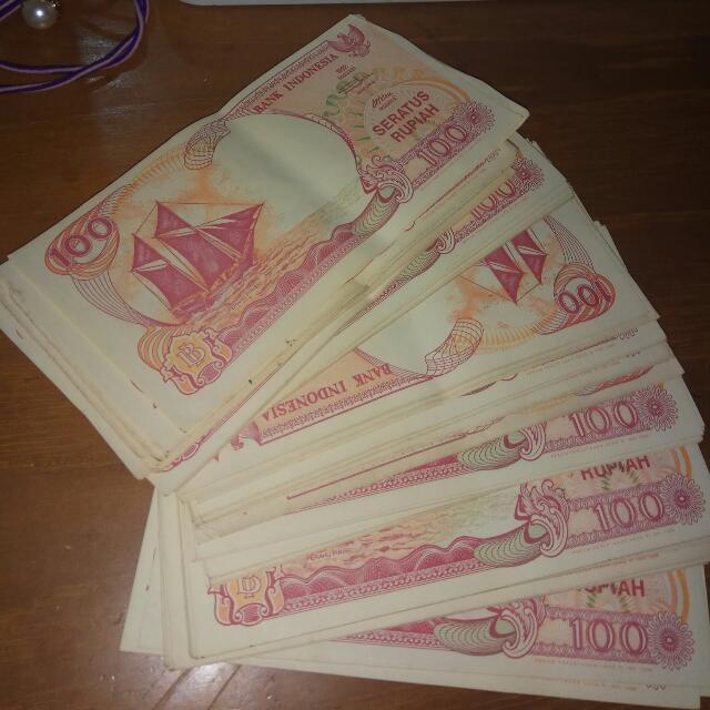 Uang Lama 100 rupiah