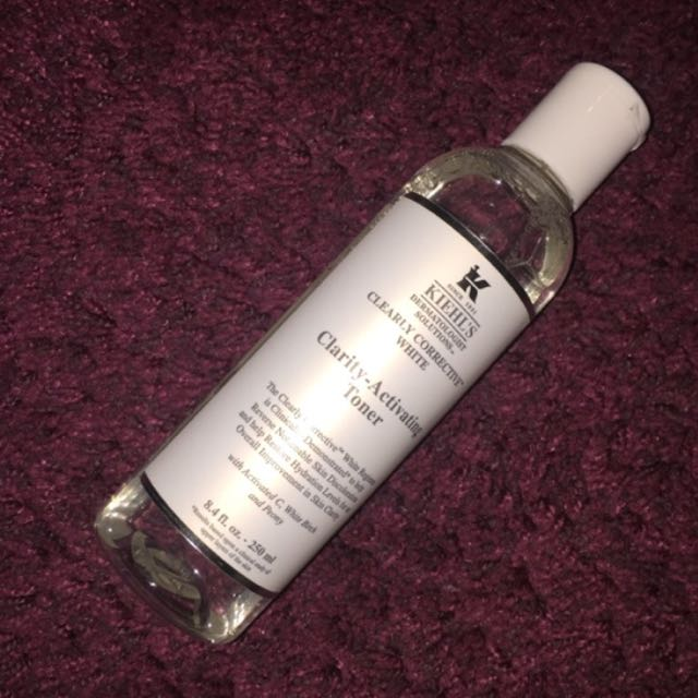 USED - Kiehl's Clearly Corrective White Toner