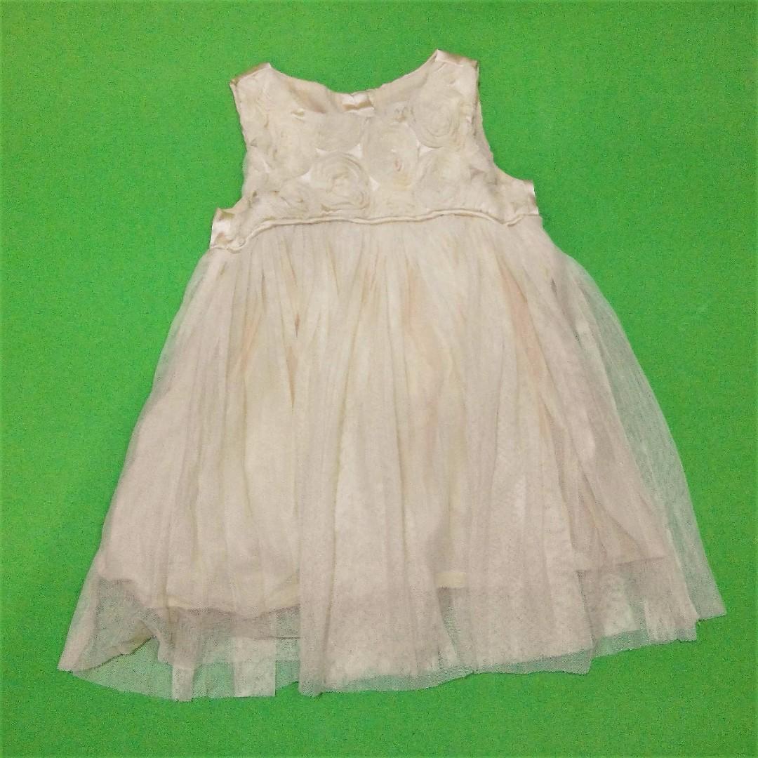 USED Peach Baby Dress