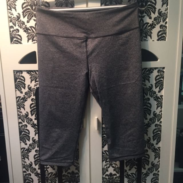 Victoria Secret Salt And Pepper Grey Crops Never Worn