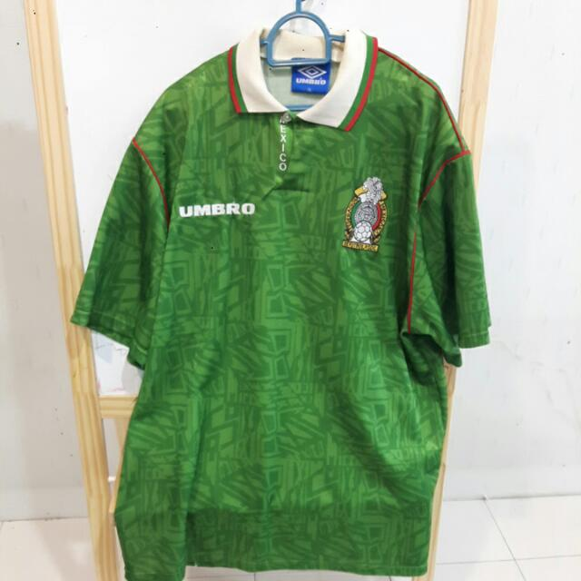 15cf09416 Vintage Mexico 1994 Home Jersey (XL)   Jersi Vintaj Mexico 1994 Home (XL)