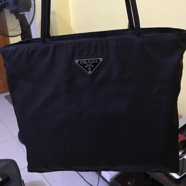 Vintage Prada Tote Bag