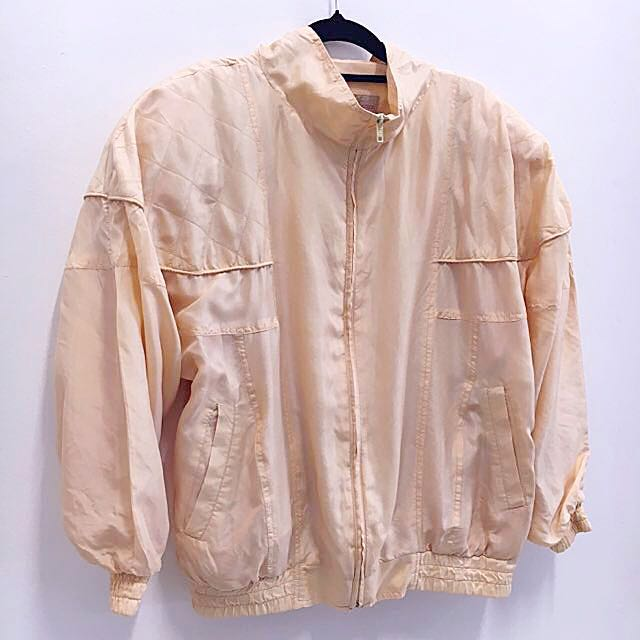 Vintage Silk Bomber
