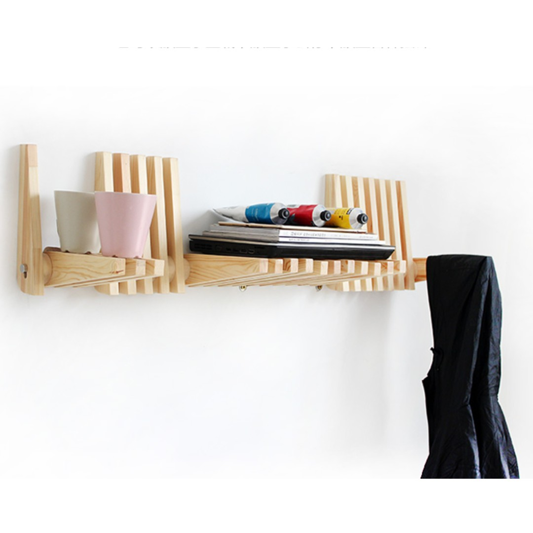 112 Wall Decor Zen Wall Rack Clothes Hanger Furniture Home