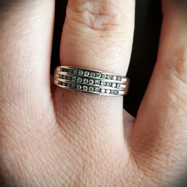 White Gold Diamond Ring