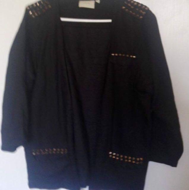 Wildpair Gold Studded Jacket