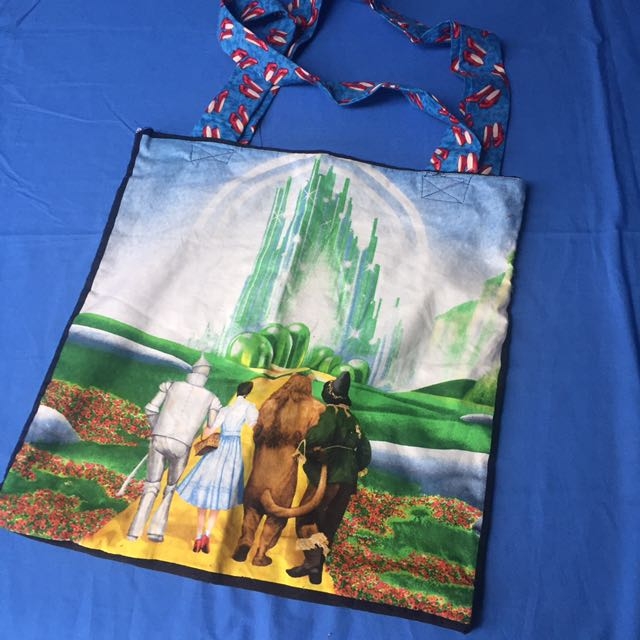 Wizard Of Oz Handbag Bookbag Handmade