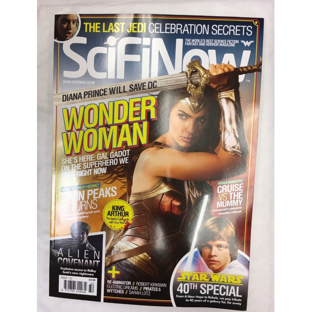 Wounder woman 2017 Movie magazine pdf
