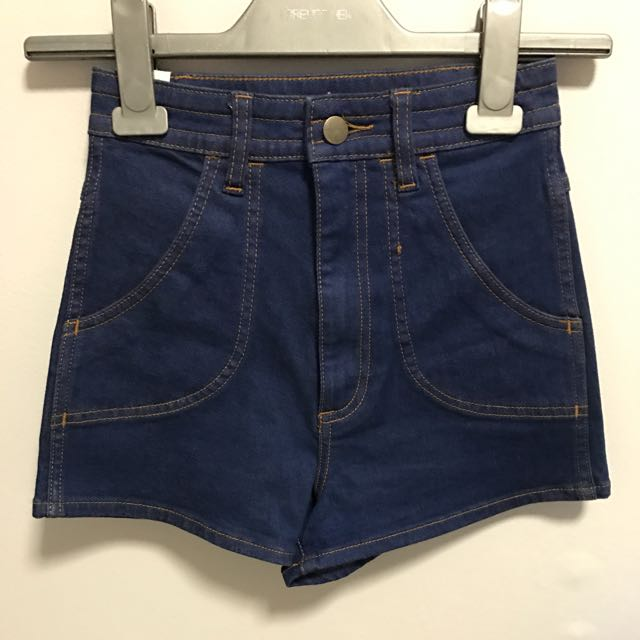 wrangler high cheeky shorts