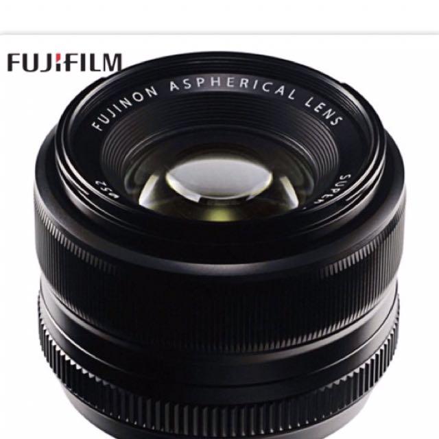 XF 35mm F1.4R Fuji Lens