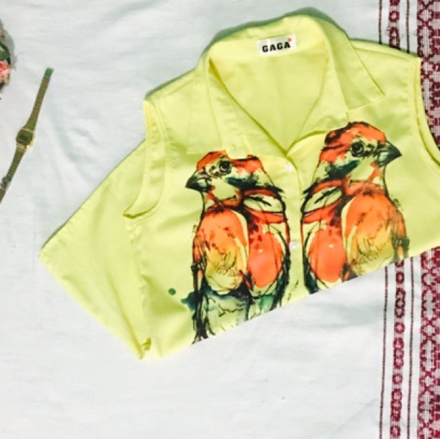 Yellow Bird Top
