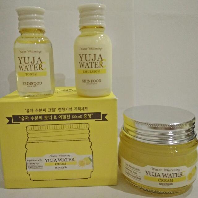 Yuja Water Package (Cream, Emulsion and Toner)