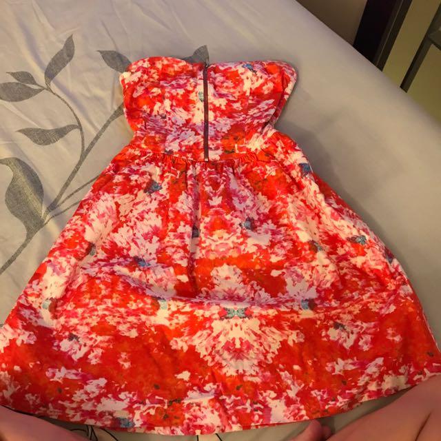 ZARA 平口洋裝(XS)