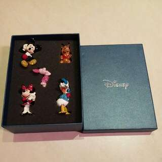 <全新>閃鑽迪仕尼(Disney)卡通公仔