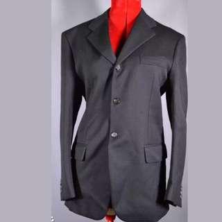 Authentic Black Prada Milano Suit 100% Wool