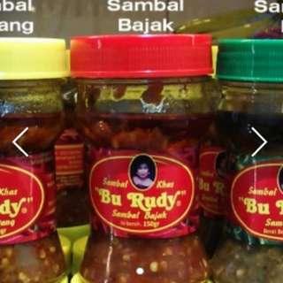 Sambal Bu Rudy Halal ( Any Type of Sambal )